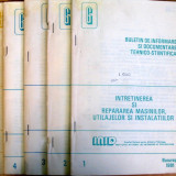 Intretinere si repararea masinilor, utilajelor si instalatiilor - vol. 1-5 - INID