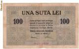 * Bancnota 100 lei 1917 BGR
