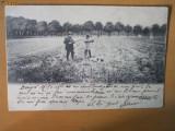 Carte Postala vanatoare circulata 1903 in Romania