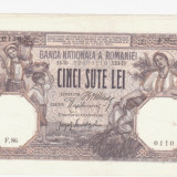 * Bancnota 500 lei 1918 - Bancnota romaneasca