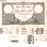 * Bancnota 1000 lei 1933