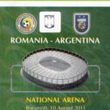 Bilet intrare Romania-Franta National Arena plus certificat prezenta