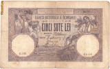 * Bancnota 500 lei 1919