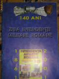 BRf - INTENDENTA ARMATEI ROMANE - 140 ANI - 2001 - REVISTA SI INSIGNA OMAGIALE