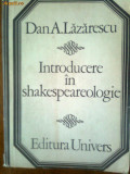 Introducere in shakespearologie