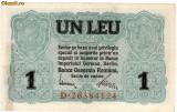 * Bancnota 1 leu BGR 1917
