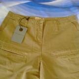 Pantalon sport de dama, Lungi, Bej, Bumbac