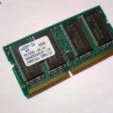 256MB PC133 SDRAM CL3 NP SO-DIMM 144 pini Memorie Ram Laptop