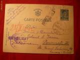 Carte Postala Militara Cenzurata 1942