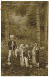 717 - Regale - Regina MARIA, Printul CAROL II - lea si Printesele - old postcard - unused