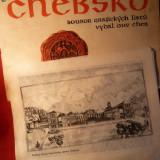 Album cu 3 Gravuri - Lucrari Grafica - Chevsko - Pictor roman