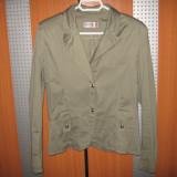 Sacou verde inchis