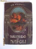 ALBUM COLOR DE COLECTIE DIN ANII 1910 CU 36 ILUSTRATE DIN NAPOLI