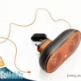 Boxe / Difuzoare Portabile Telefon Sony Ericsson Originale cu Antena Radio (Ideale ascultat Mp3-uri pe telefon/Sunet Stereo) LICHIDARE STOC/PRET REDUS