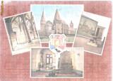 Carte postala- HUNEDOARA - Castelul Huniazilor - Colaj