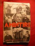 C.I.Nottara - Amintiri - Prima Ed. 1936