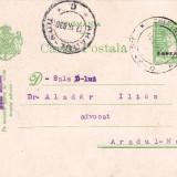 CARTE POSTA STAMPILA CHISINEU CRIS DR.JULIU LORINCZY, PT. DR.ALADAR ILIAS ARADUL NOU 1931-CPRO 107