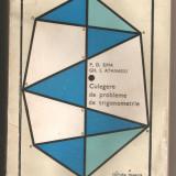 (C424) CULEGERE DE PROBLEME DE TRIGONOMETRIE, ADMITERE, DE SIMA, ATANASIU - Culegere Matematica