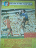 Program meci fotbal regia fotbalistica Sportul Studentesc - U Craiova 1989 sport