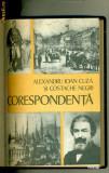 Corespondenta - Alexandru Ioan Cuza si Costache Negri