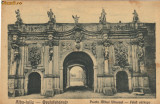 Ilustrata Alba Iulia - Poarta Mihai Viteazul