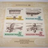 UNGARIA 1967 - COLITA AEROFILA`67 - NEUZATA - Timbre straine