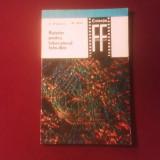C. Pivniceru M. Mioc, Retetar pentru laboratorul foto-film - Carte Cinematografie