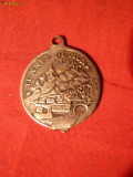 Medalie Tunel MONT BLANC avers ,AOSTA revers ,met.alb