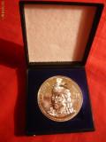 Medalie Argint - VLAD TEPES -cutie originala