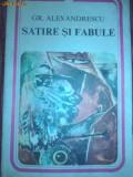 GR.ALECSANDRESCU -SATIRE SI FABULE