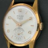 NILDA 1965 - MANUAL 17 J - SWISS MADE - NOU - Ceas barbatesc, Mecanic-Manual