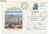 RFL 1995 ROMANIA Centenarul Postei Paltinis plic FDC circulat cu  vigneta Hohe Rinne