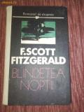 F.SCOTT FITZGERALD -BLINDETEA NOPTII