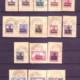 1919 Bayern Mi. 136-151 stampilate