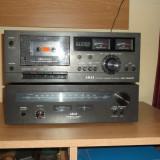 Casetofon deck AKAI CS-702D II + Stereo Tuner AT2200 black