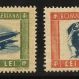 Tineretul progresist, posta aeriana, marci neobliterate, 1946 - Timbre Romania