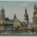 carte postala foarte rara DRESDEN STANDEHAUS. 1910. DRESDA