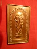 Placheta- Expozitia Filatelica -Fotbal-Brasov 1978