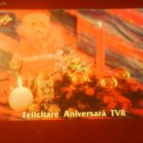 Felicitare aniversara, 40 de ani TVR