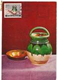 Ilustrata maxima- MUNTENIA-Oala cu minuse si farfurie