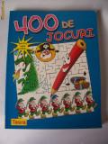 400 DE JOCURI  ,CARTE .136 PAGINI .