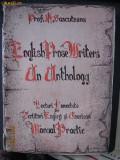 Sascuteanu, H. Prof. - English Prose Writers