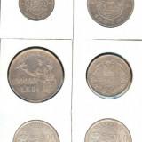 ROMANIA LOT MONEDE ARGINT III - Moneda Romania