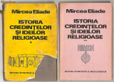 (C599) ISTORIA CREDINTELOR SI IDEILOR RELIGIOASE DE MIRCEA ELIADE, 3 VOLUME