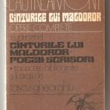 (C614) CINTURILE LUI MALDOROR, OPERE COMPLETE DE ISIDORE DUCASSE