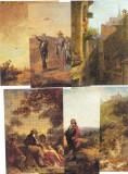Set 12 (+1) Carti postale Ilustrate pictura - Carl Spitzberg