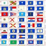 ST-32=SUA 1976 200 ani SUA Coala cu Steagurile celor 50 state MNH - Timbre straine