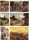 Set 12 Carti postale Ilustrate pictura - 500 de ani Posta Germana