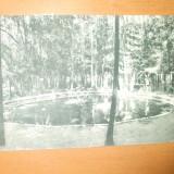 Carte postala Moreni Ferma Fagaras Lacul cu pastravi de la Fantana Craiesei
