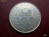 Ungaria  200  forint  1994, Argint (portret Deak Ferenc)